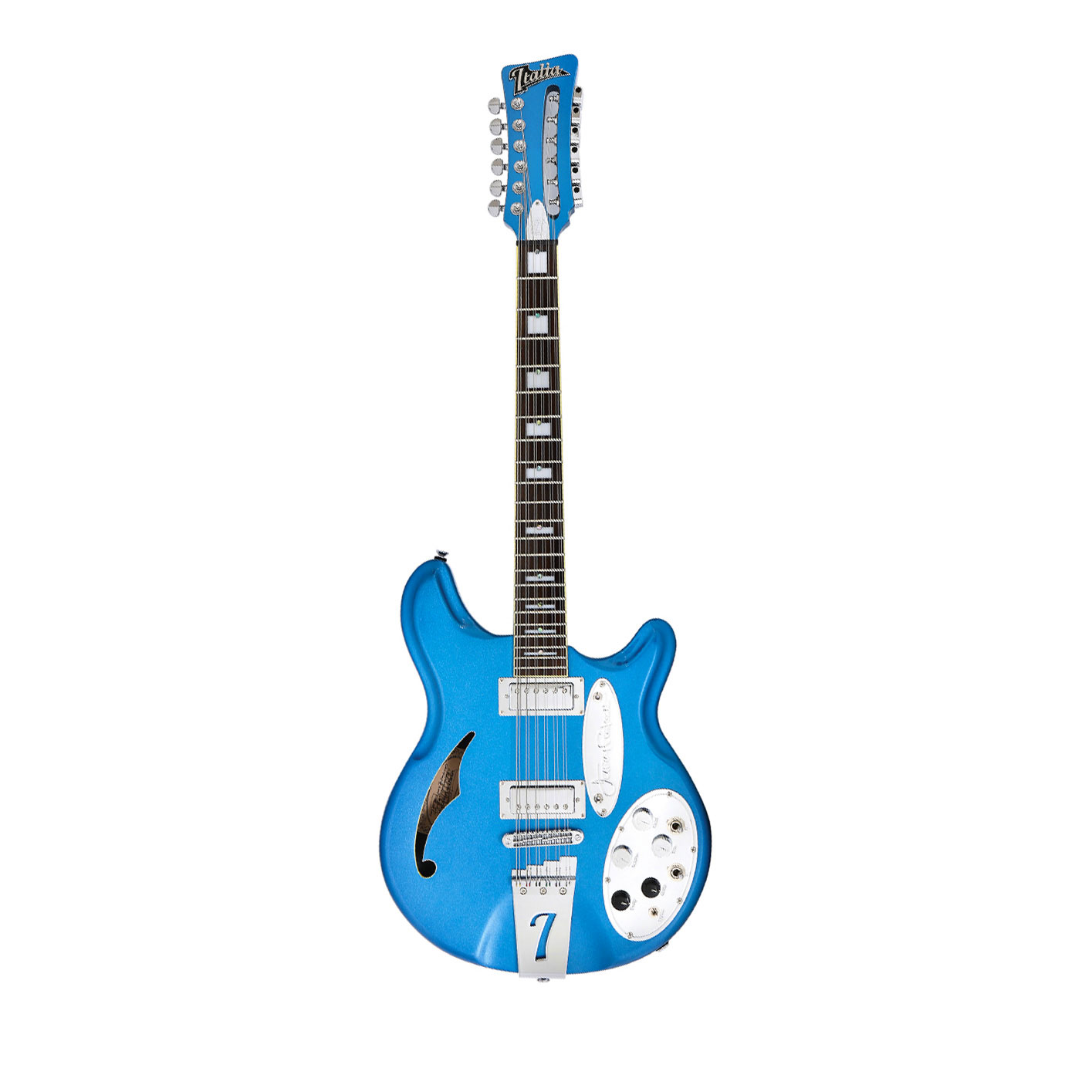 Italia Jeffrey Foskett Signature 12 Cobalt Blue
