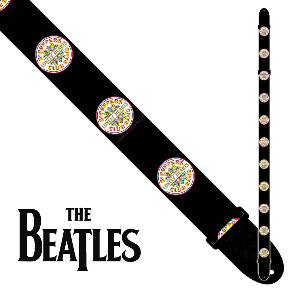 6083 THE BEATLES 2INCH POLY STRAP - SGT PEPPERS