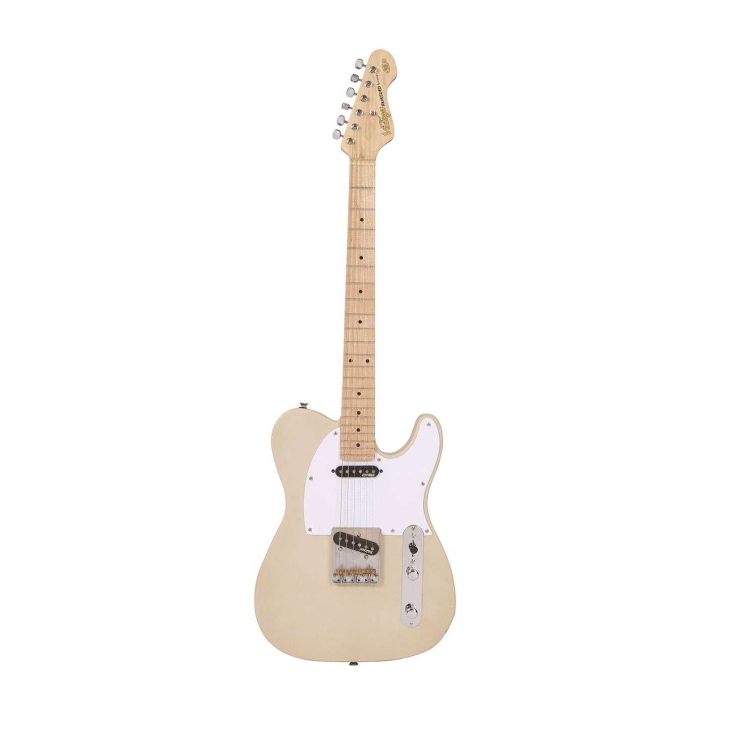 Vintage Guitars V58jdab Ash Blonde