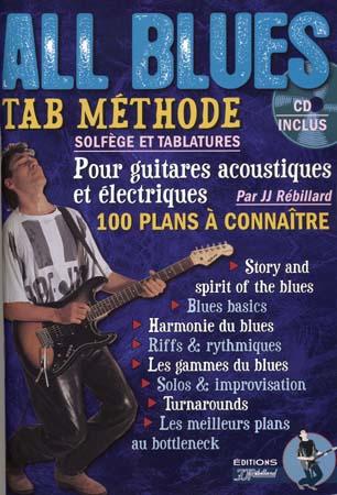 Rebillard J.j - All Blues + Cd - Guitare Tab