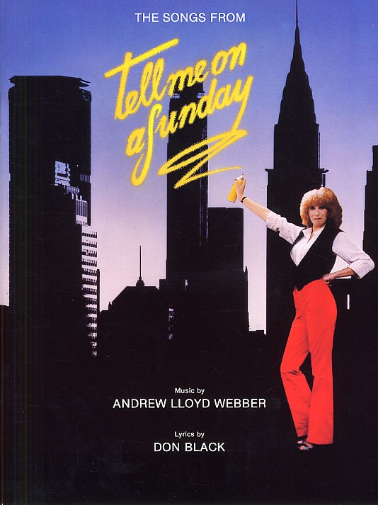 Andrew Lloyd Webber Tell Me On A Sunday - Pvg