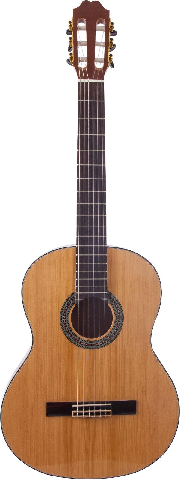 barcelona cg35 guitare classique 1-2 marron
