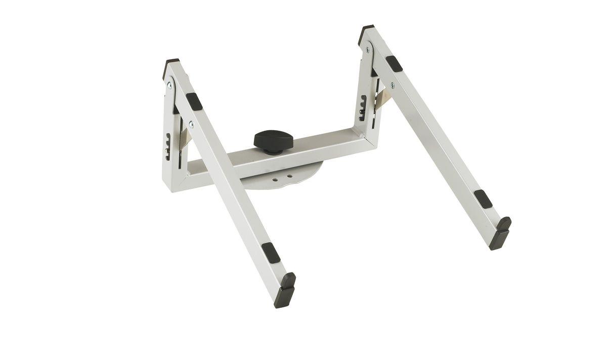 k m 18868 000 81 support ordinateur portable argent pour spider pro et baby spider pro stand de. Black Bedroom Furniture Sets. Home Design Ideas