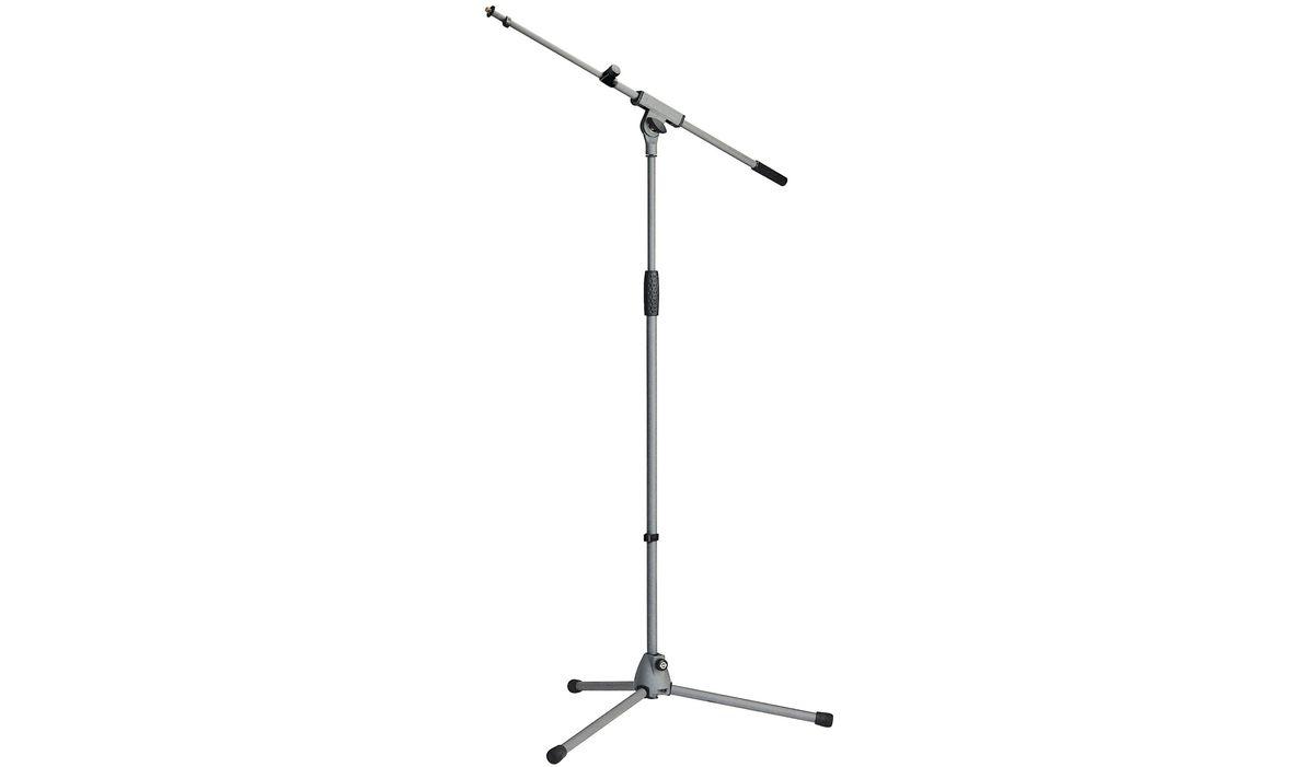 k m 21060 300 87 pied de microphone perche telescopique embase trepied gris microphone buy. Black Bedroom Furniture Sets. Home Design Ideas