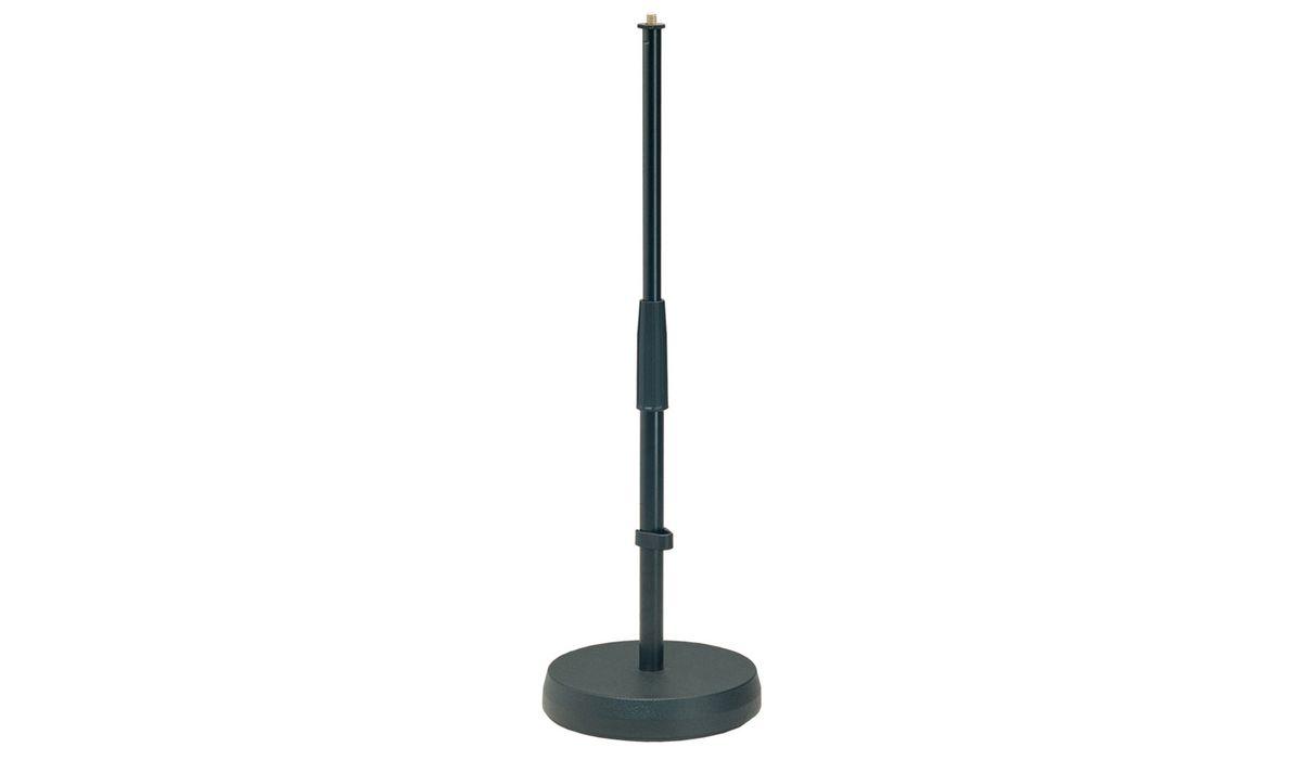 Kandm stand de table pour microphone noir microphone - Table ronde telescopique ...
