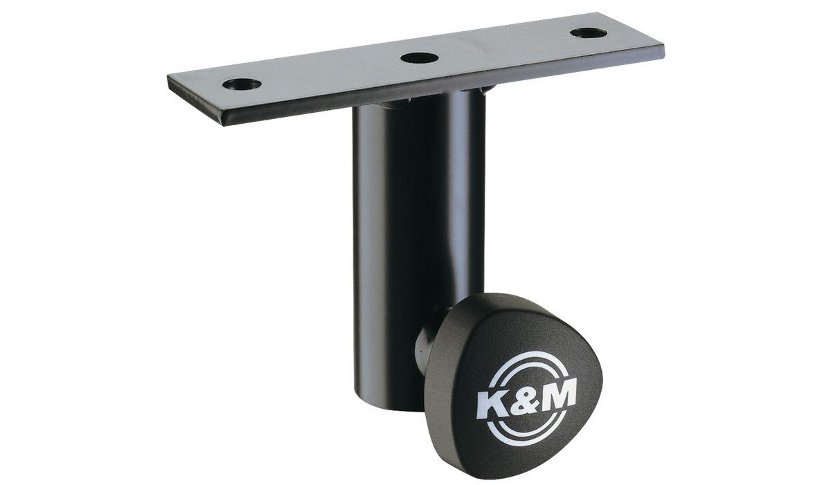 kandm 24281 000 55 adaptateur a vis noir pour pied d. Black Bedroom Furniture Sets. Home Design Ideas
