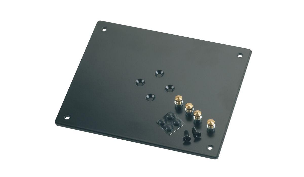 K&m 26792-024-56 Plaque Support Noire 240 X 5 X 200 Mm 18 Kg