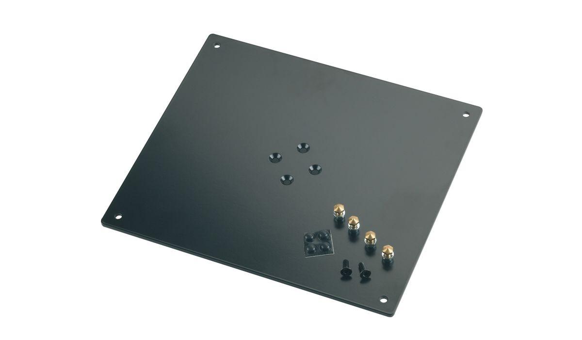 K&m 26792-032-56 Plaque Support Noire 320 X 5 X 280 Mm 34 Kg