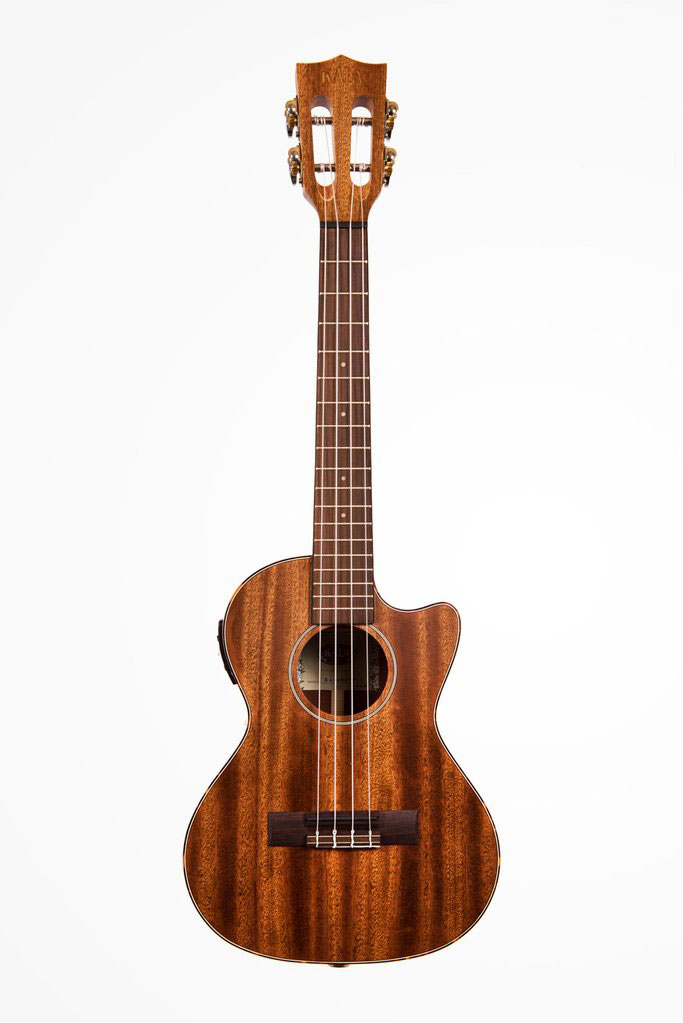 SOLID MAHOGANY TENOR CUTAWAY ELECTRO-ACOUSTIC CUTAWAY BOOK WITH COVER