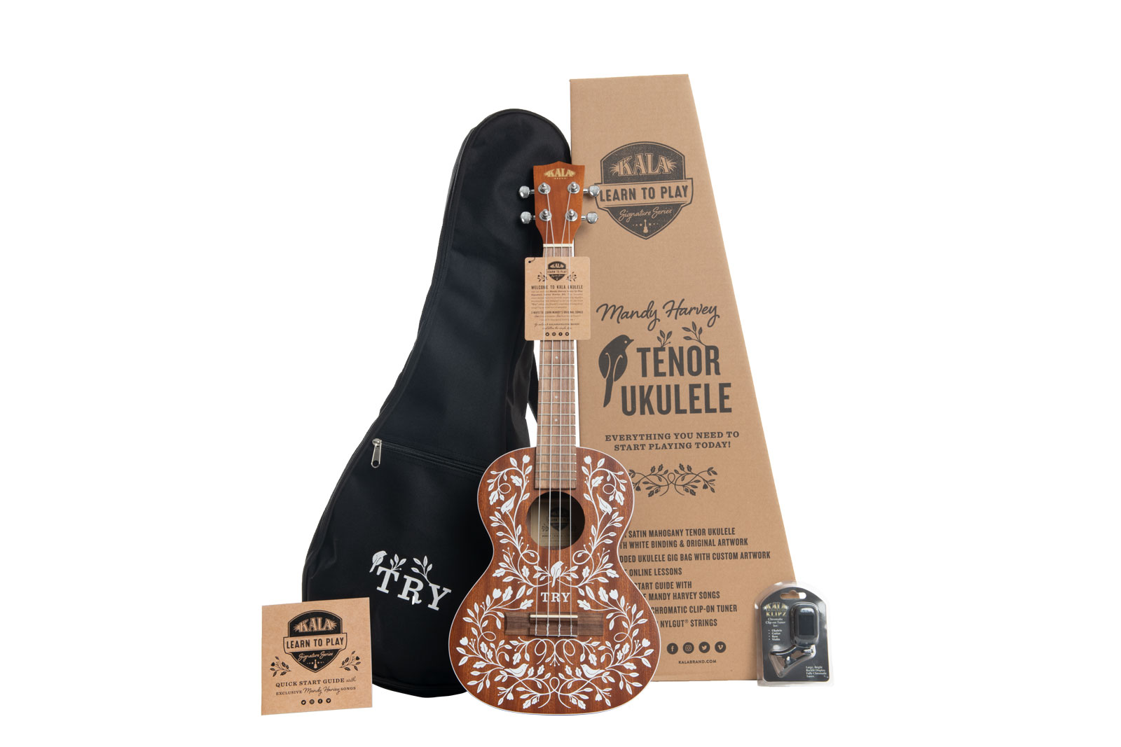 Aquila Soprano Ukulele Strings 3 Pack with Fender Play Online Lessons