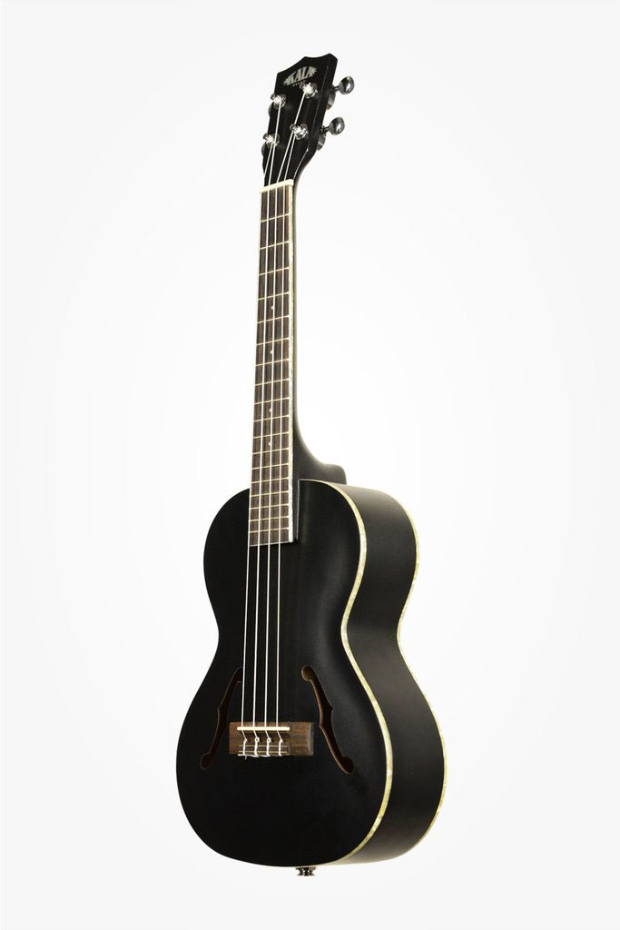CROSSOVER ARCHTOP HOLLOW TENOR ELECTRO-ACOUSTIC SATIN METALLIC METALLIC BLACK