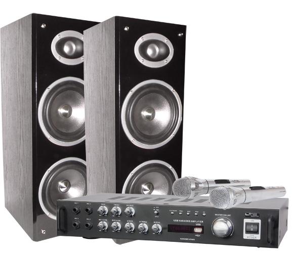 Ltc Audio Ensemble Karaoke Avec Afficheur Digital and Bluetooth