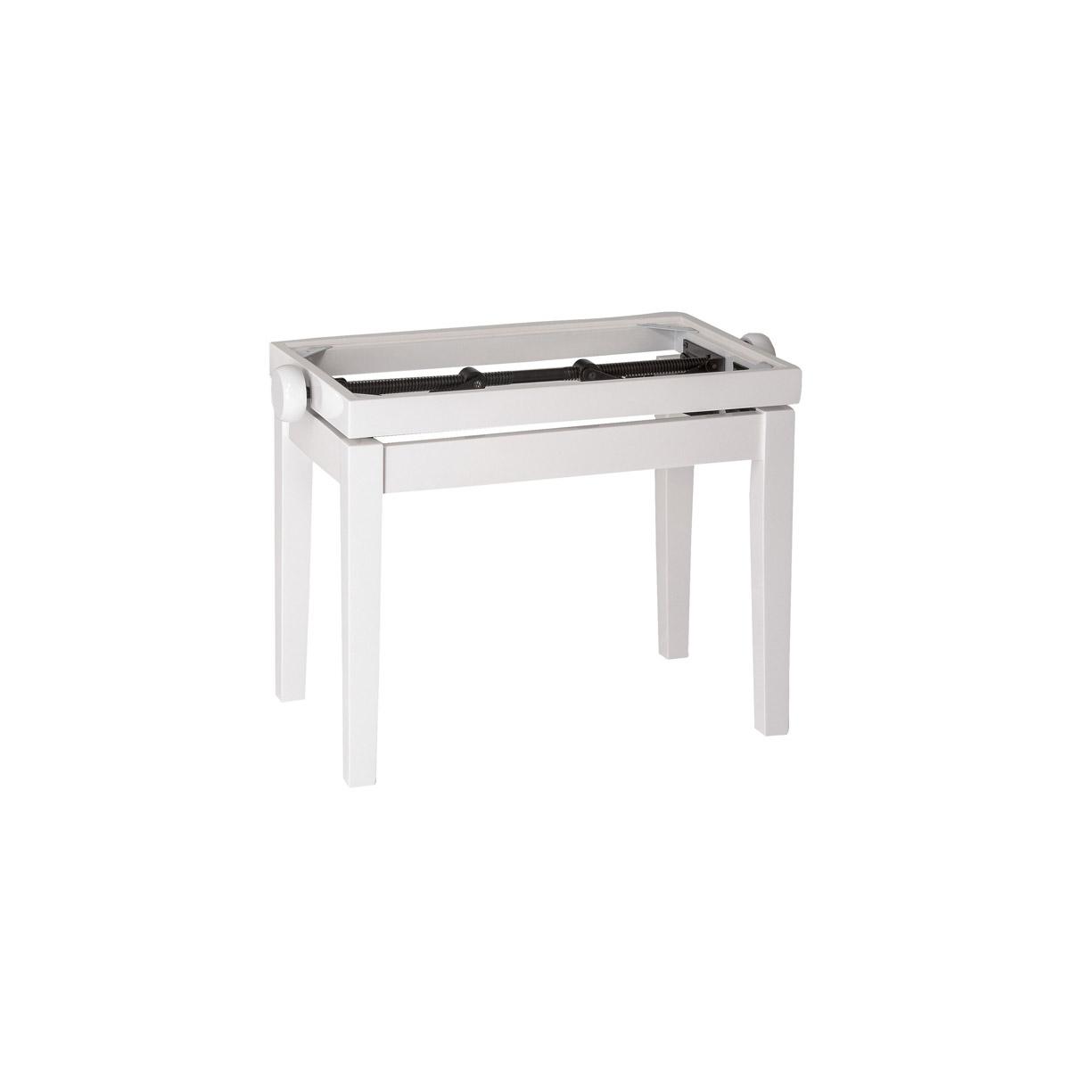 banquette de piano cerise mat avec simili cuir noir. Black Bedroom Furniture Sets. Home Design Ideas
