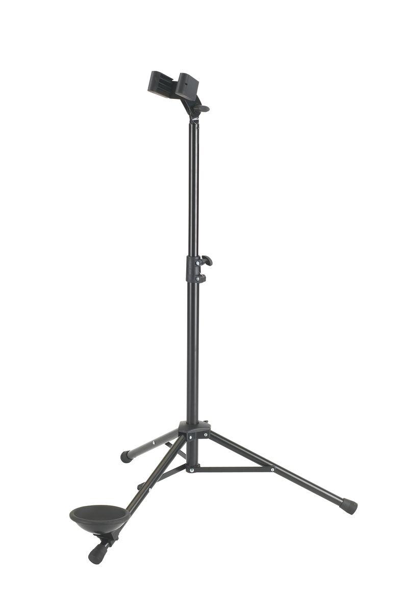 K&m 15010-011-55 Stand Noir Pour Clarinette Alto/basse Et Basson