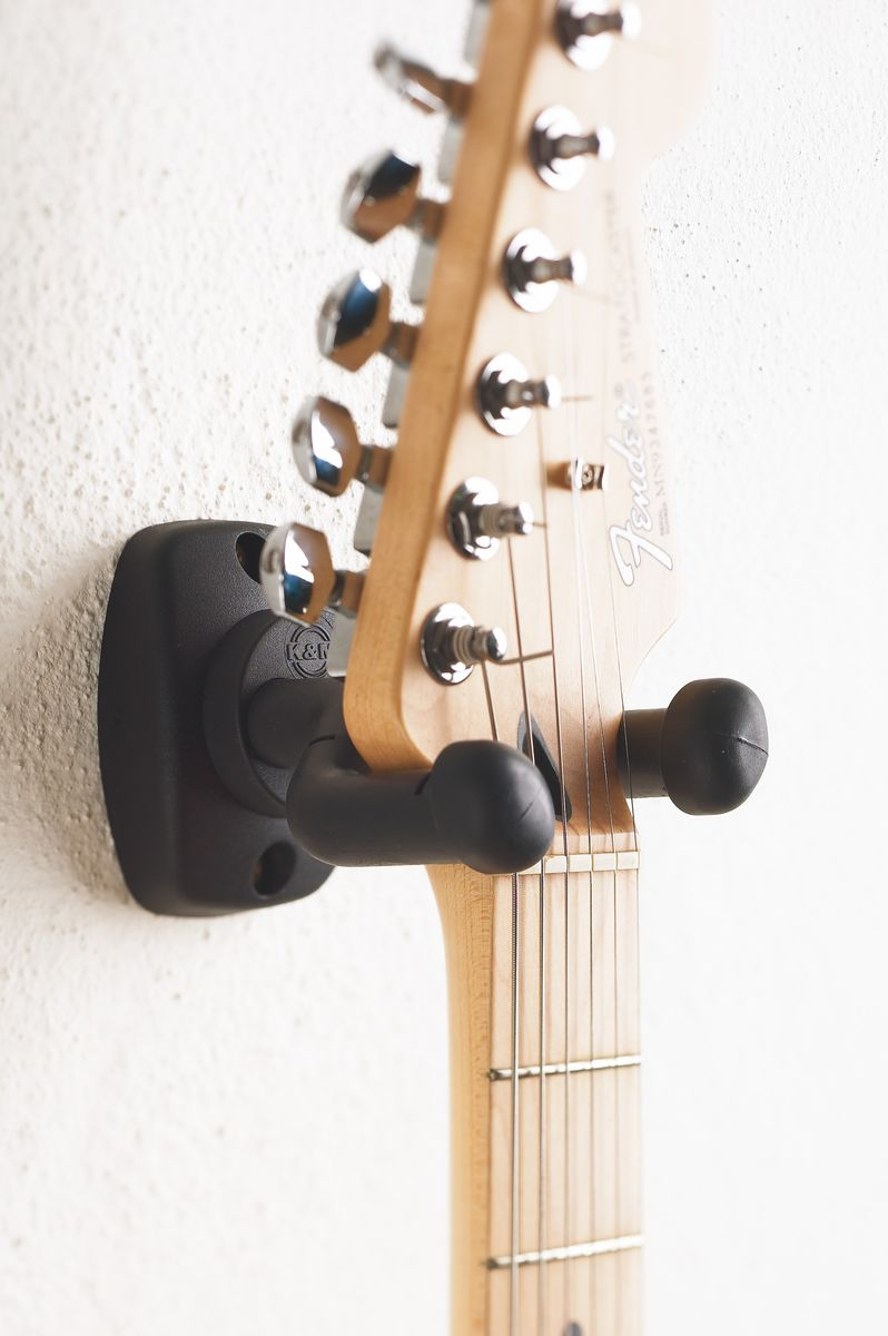16250-000-55 BLACK GUITAR WALL MOUNT