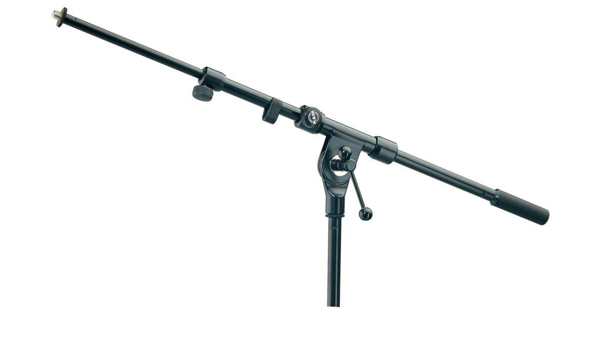Kandm 22110 300 55 pied de table pour microphone embase - Table ronde noire ...