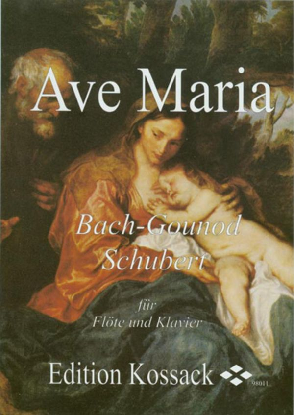 Bach / Gounod / Schubert - Ave Maria - Flute and Piano