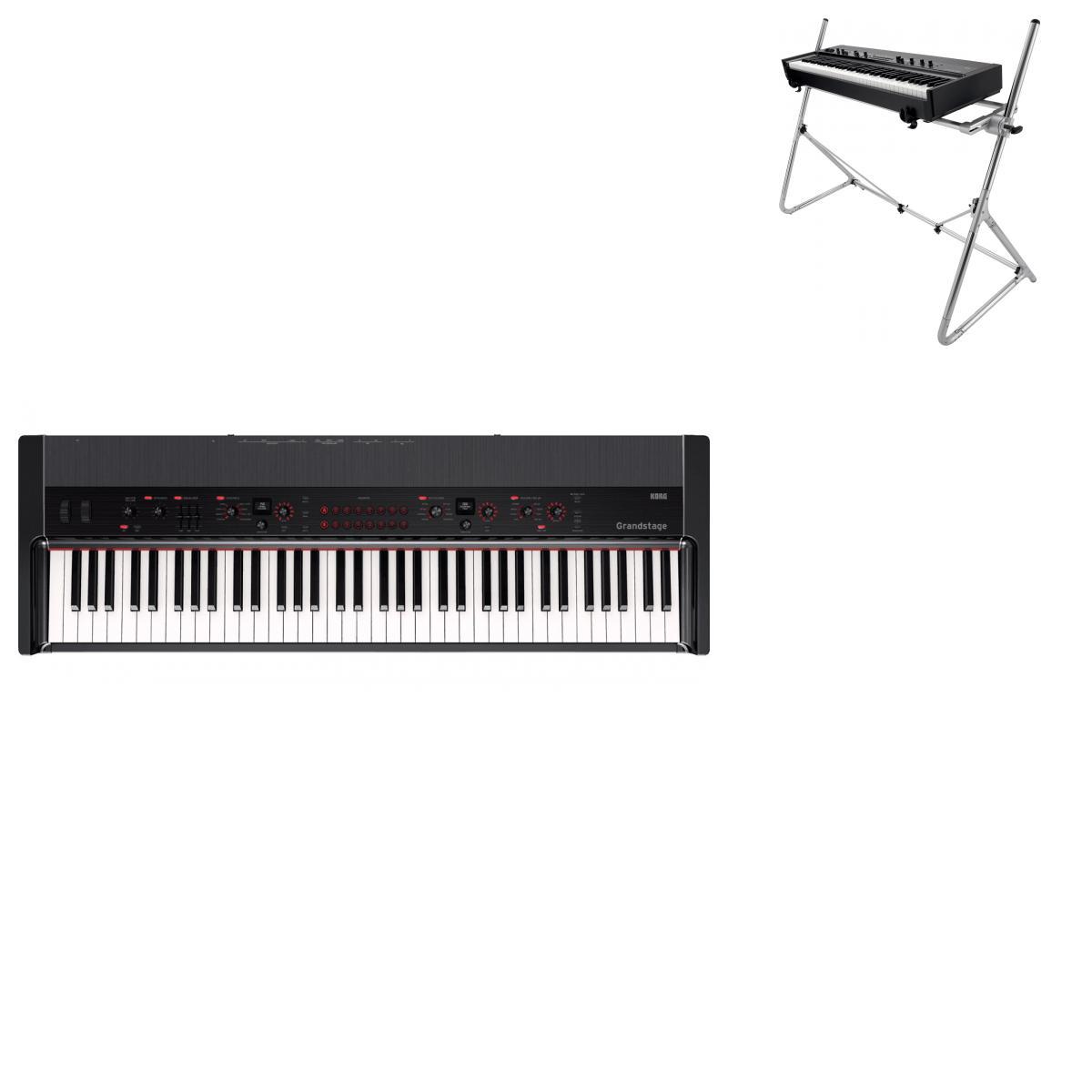 clavier de sc ne compact 73 notes nord ns2 76 piano. Black Bedroom Furniture Sets. Home Design Ideas