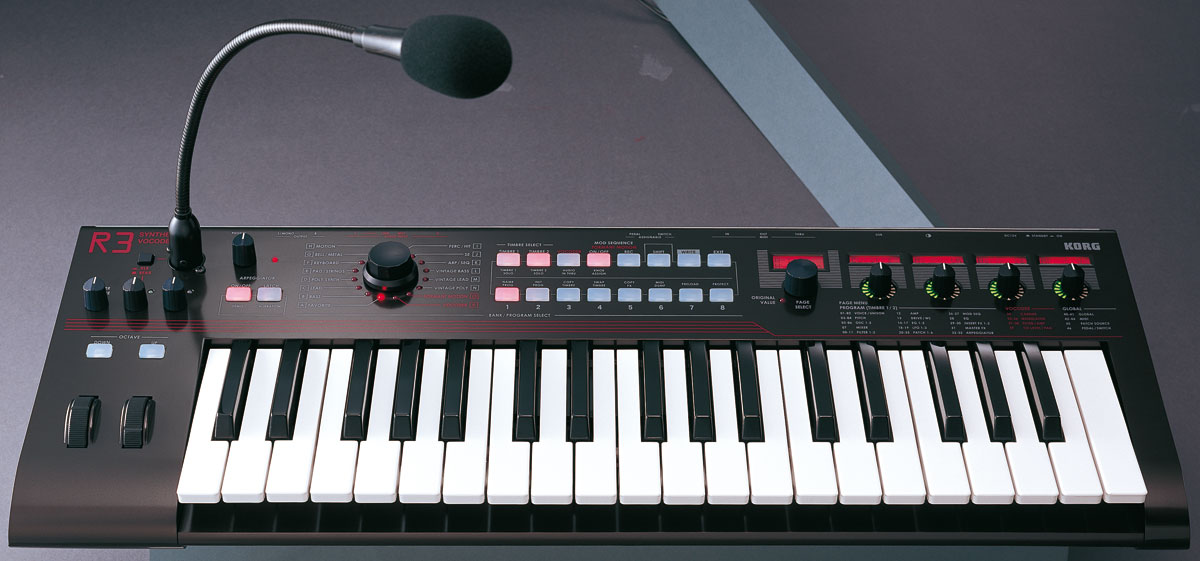 Synthetiseur Vocodeur Korg R3 37 Notes Synthetiseur Pas