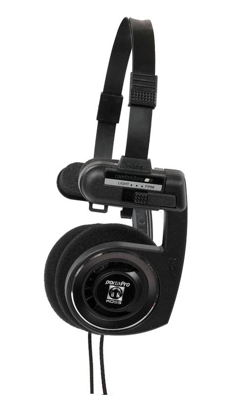 Koss porta pro portapro bbc black stereo headphones - Koss porta pro ...