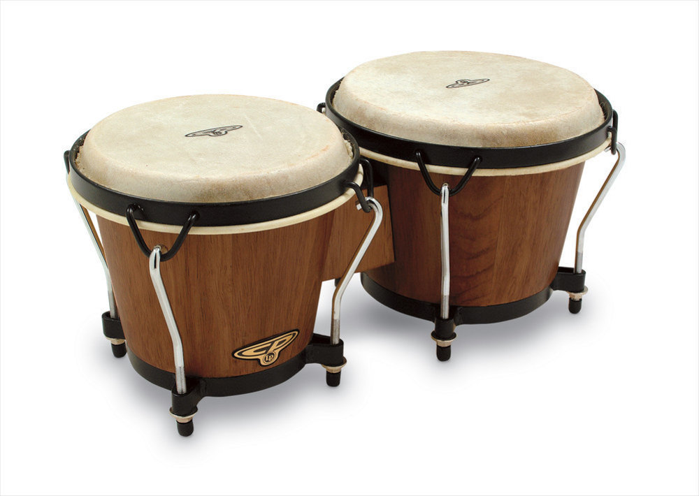 Lp Latin Percussion Cp221-dw Bongos Cp Traditionnel Dark Wood