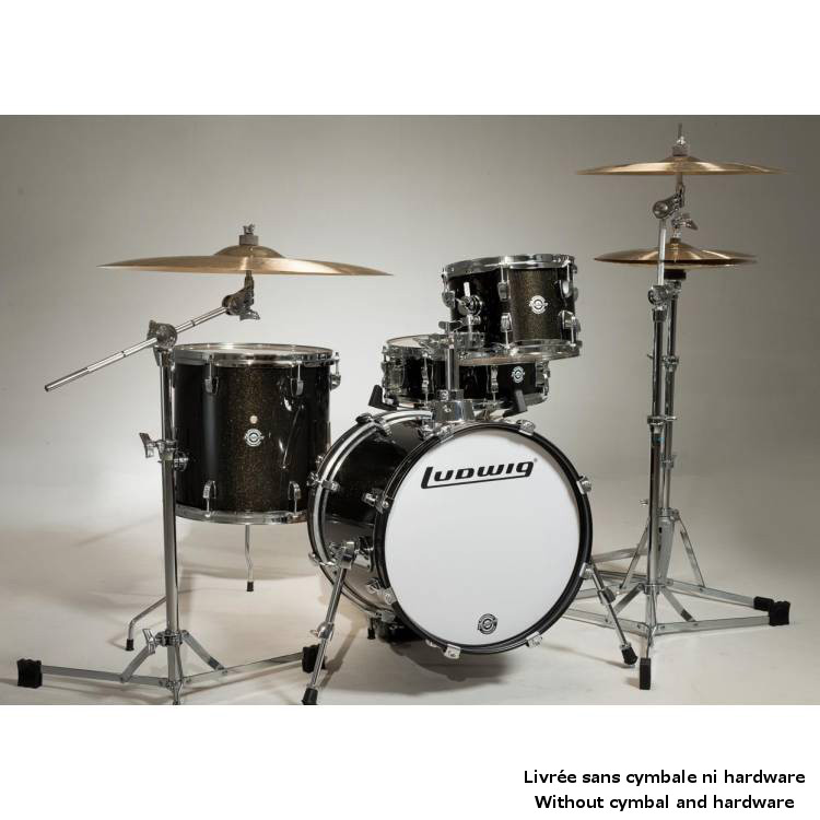 LC179XO16 - KIT BREAKBEATS QUESTLOVE BLACK SPARKLE