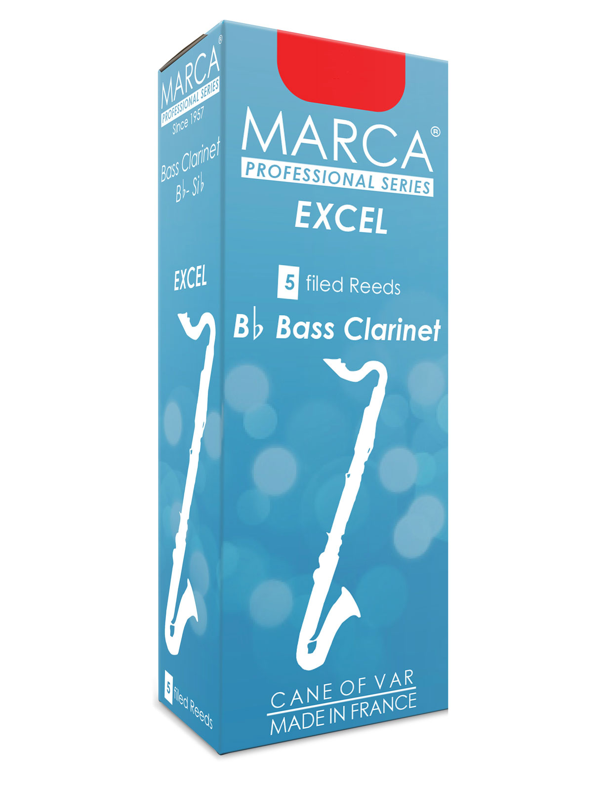 Marca Anches Excel Clarinette Basse 3