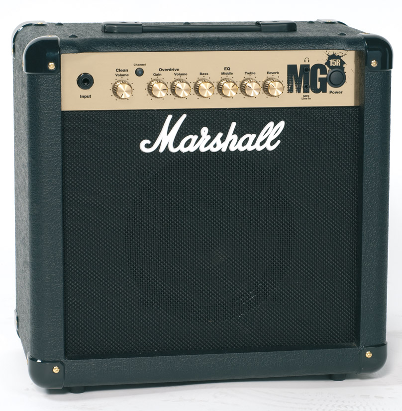 Vos Instruments MARSHALL+MG+15+R+COMBO+AMPLI+GUITARE