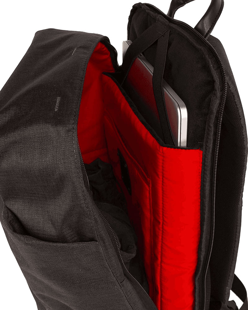 BACKPACK CITY ROCKER BLACK BLACK