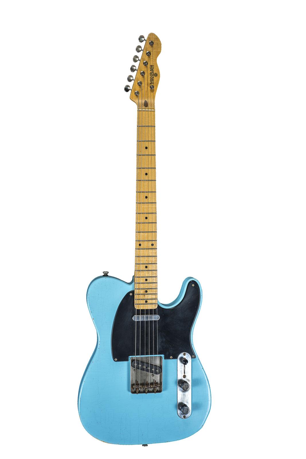 Maybach Teleman T54 Caddy Blue Aged + Etui