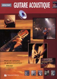 GUITARE ACOUSTIQUE DEBUTANT CD