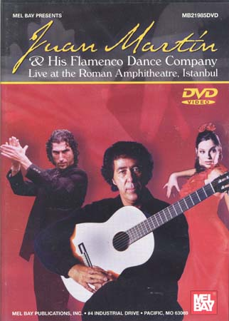 Dvd Martin Juan & His Flamenco Dance Company Live Istanbul