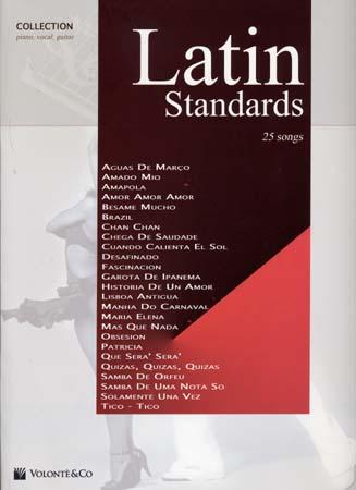 Latin Standards - 25 Songs - Pvg