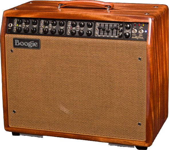 Mesa Boogie Mark V - Combo 1x12 10/45/90w Acajou