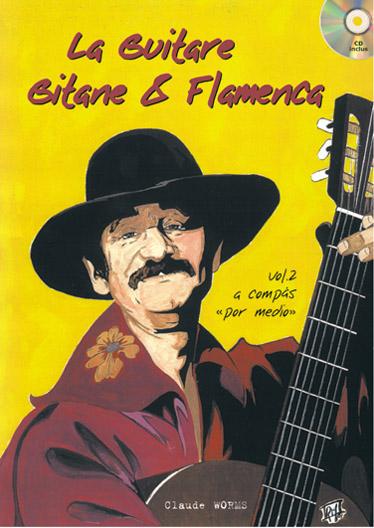 Worms Claude - Guitare Gitane & Flamenca + Cd, Vol.2 - Guitare Tab