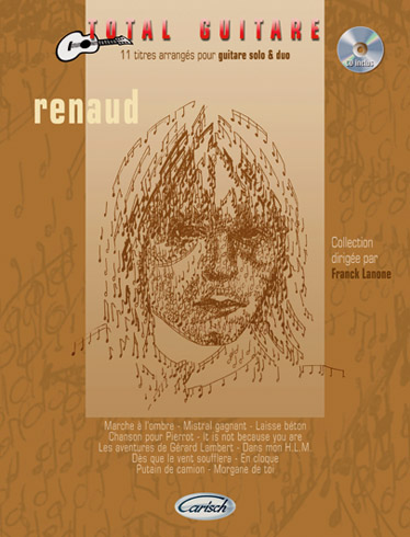 RENAUD - COLLECTION TOTAL GUITARE + CD - GUITARE