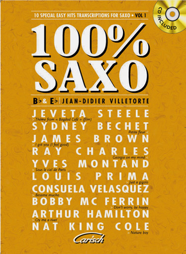 100% Saxo Vol.1 +cd