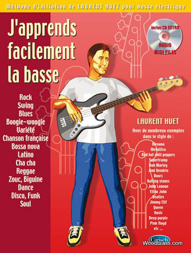 Huet Laurent - J'apprends Facilement La Basse + Cd