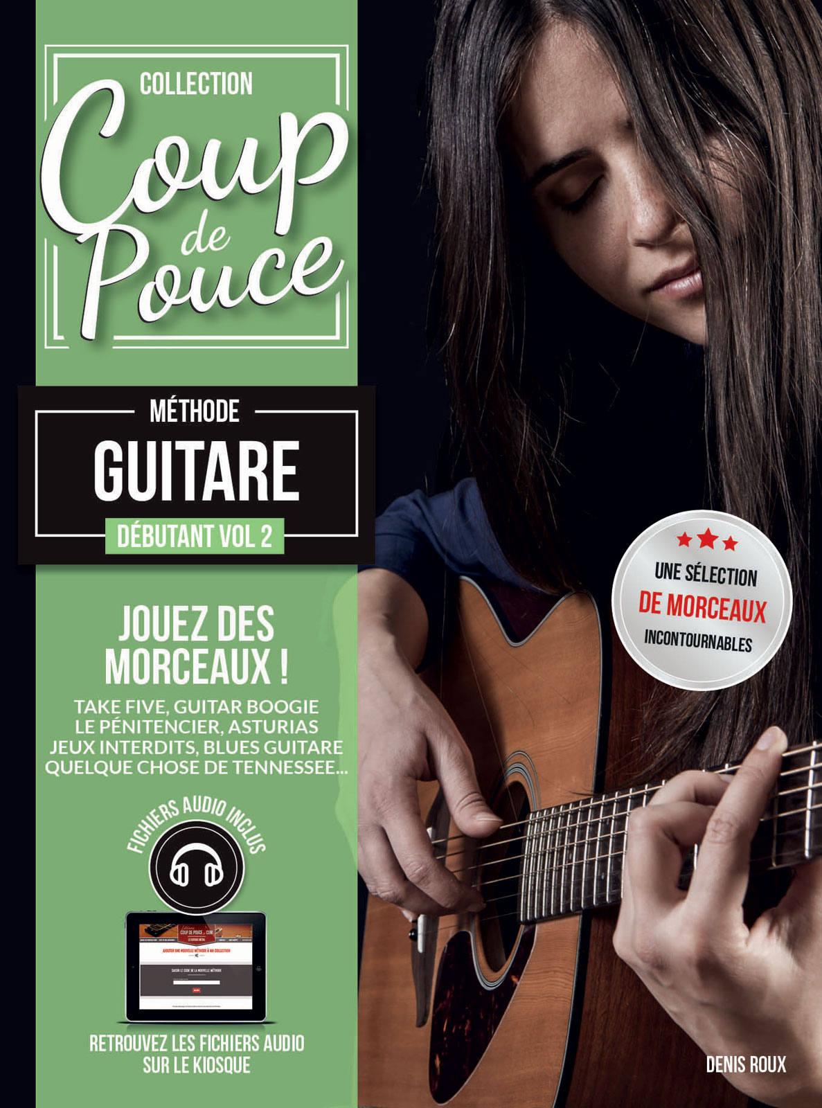 COUP DE POUCE GUITARE VOL.2 + CD