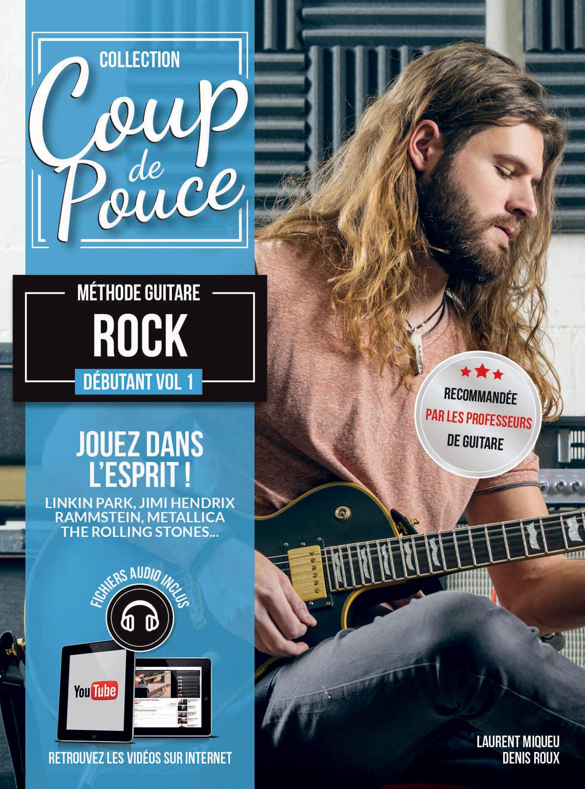 COUP DE POUCE GUITARE ROCK VOL.1