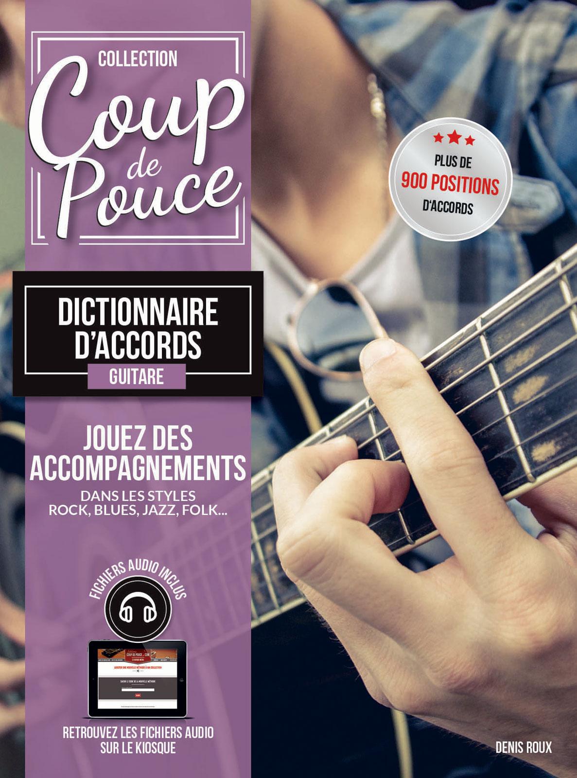 COUP DE POUCE DICTIONNAIRE D'ACCORDS - GUITARE