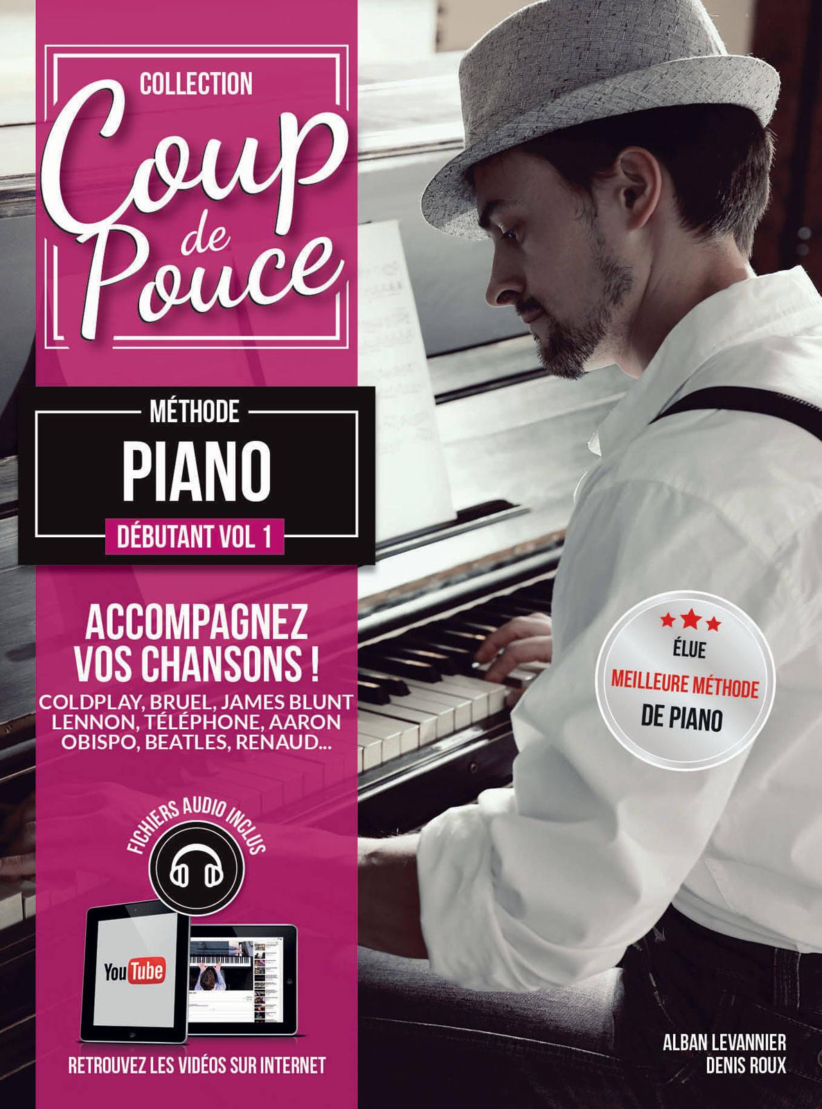 COUP DE POUCE PIANO DEBUTANT VOL.1