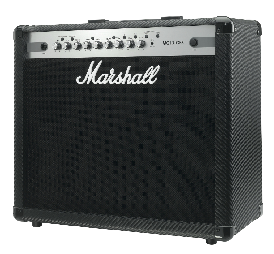 Marshall Mg101cfx - Finition Carbone/silver
