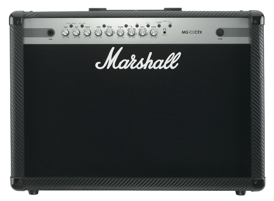 Marshall Mg102cfx 2 X 50w - Finition Carbone/silver