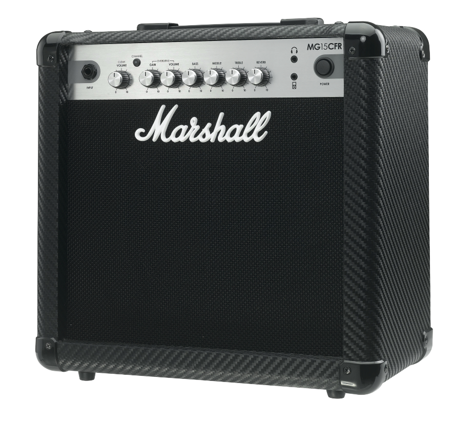 Marshall Mg15cfr - Finition Carbone/silver