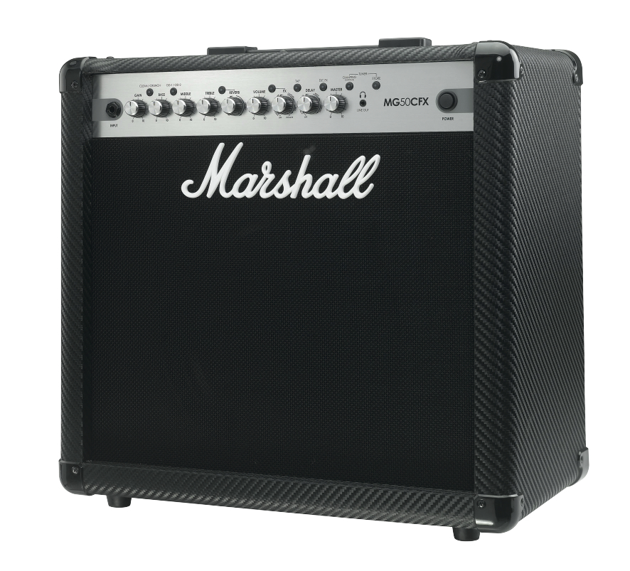 Marshall Mg50cfx - Finition Carbone/silver