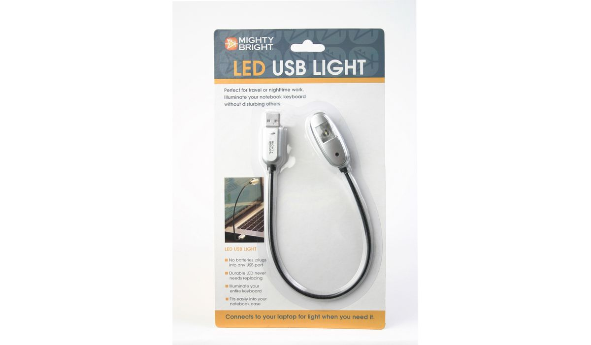 85681-000-63 SILVER 1 LED USB LIGHT