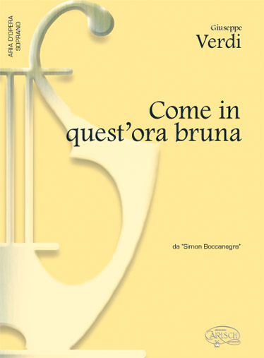 COME IN QUEST'ORA BRUNA - PIANO, VOIX SOPRANO