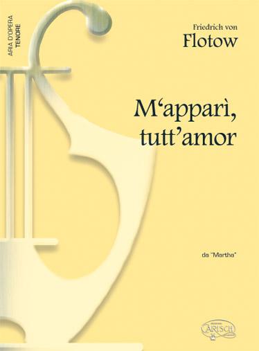 Flotow - M'appari' Tutt'amor - Piano, Voix Tenor