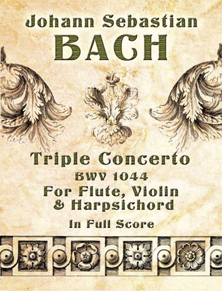 Bach J.s. - Triple Concerto Bwv 1044 - Full Score